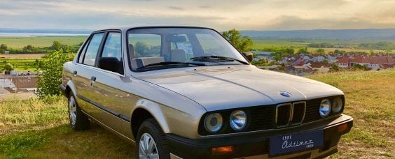 Bild von einem BMW 316i E30